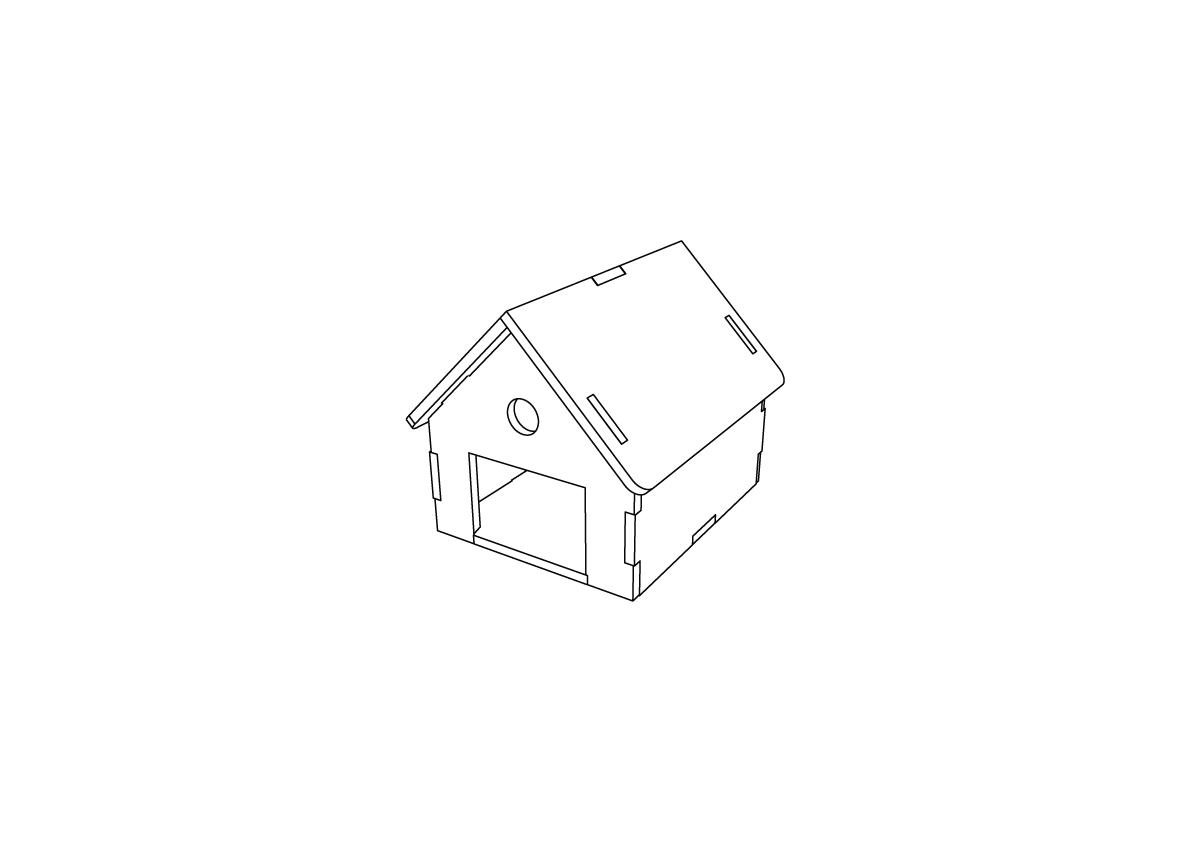Lasercut – Garage V1 – Thumb