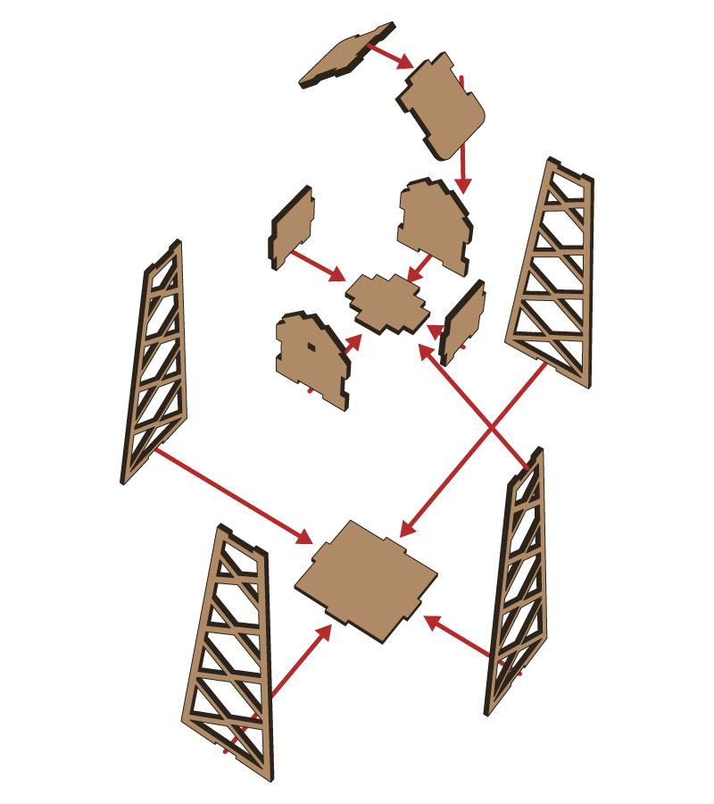 Lasercut - Mill V1 - Setup 1