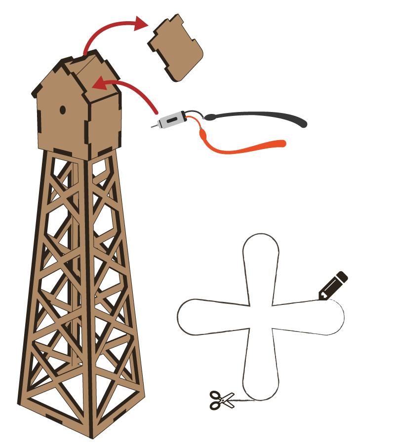 Lasercut - Mill V1 - Setup 2
