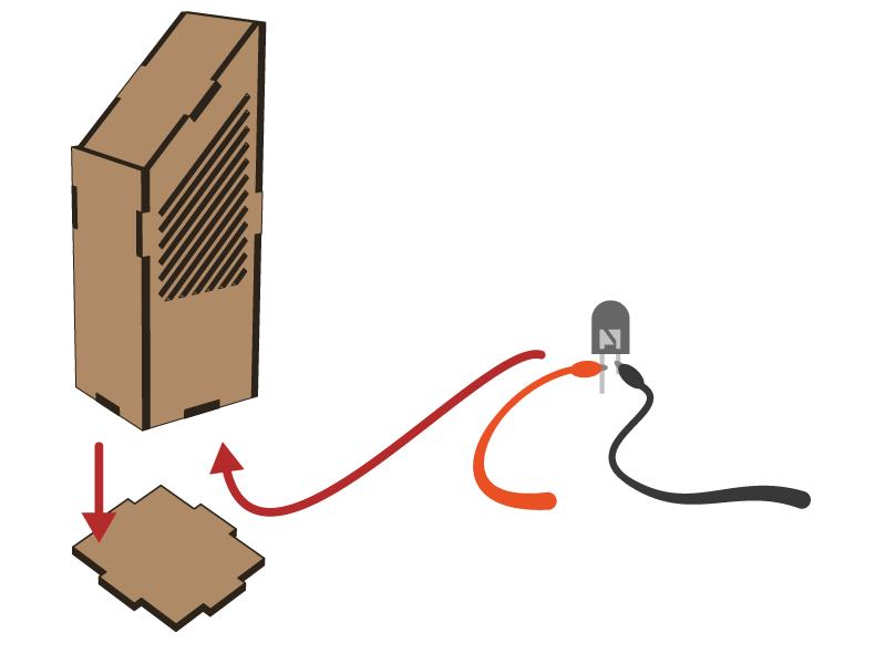 Lasercut - Tower 1 V1 - Setup 2