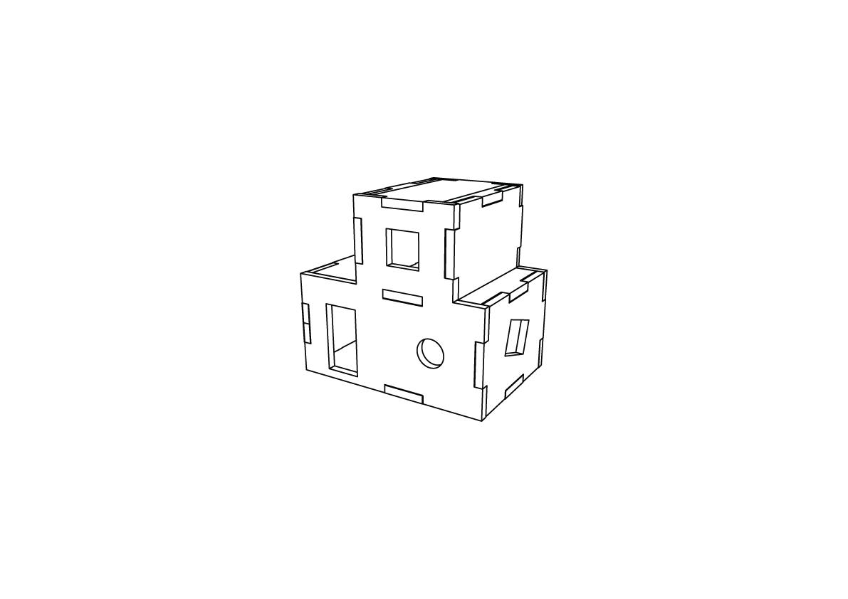 Lasercut – Tree House V1 – Thumb
